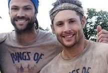SPN cast (1) / I'm not gonna lie, there's probably a lot of Misha here.