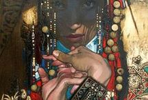 nurlan kilibayev / contemporary central asian artist who rocks my orientalist world