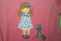 Camisetas personalizadas / Todo tipo de camisetas personalizadas para niñ@s y sus mamás se personalizan a tu elección.