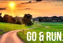Marathon / run hard, feel better, think slow, prepare yourself, long-term