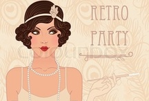 Art Deco, 1920's & 1930's / Brainwashed by watching too many episodes of Hercule Poirot! Love the clothes too!
