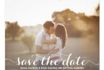 Wedding // Save The Dates