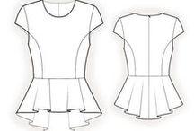 Patron de couture (want)
