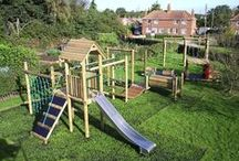 Lavenham Climbing Frames Playground Equipment / Climbing frames in the Lavenham range from Action Play & Lesiure allow children to keep fit and expand their imagination all in one! http://www.actionplayandleisure.co.uk/lavenham/
