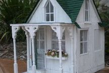 fairy houses/doll houses / the enchantment of miniature homes