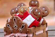 Gingerbread Party Ideas / Gingerbread Christmas Party and Gingerbread Birthday Party Ideas - EVERYTHING GINGERBREAD - Gingerbread houses, gingerbread cookies, gingerbread drinks, gingerbread games, gingerbread decorating ideas, and more!