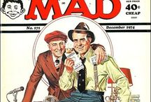 MAD covers / Front covers of MAD magazine