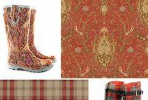 Floral boots / Floral boots un stil nou plin de viata si energie pentru persoane unice. La fel ca si tapetul imprimeul conteza si face diferenta.