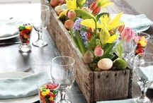 DIY Table Decor for home / Decorating home with simple elegance for entertaining and everyday!