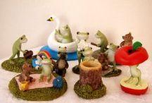 Copeauのカエル / アンティーク雑貨のお店ohanaにてカエルシリーズをたくさん扱ってます! http://www.ohana-shop.jp