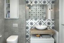 Für Gäste / Alles Wichtige auf zwei Quadratmetern! Toilette und Handwaschbecken können dabei nicht nur praktisch, sondern auch Hingucker auf dem Gäste-WC sein.