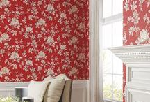 Red Wallpaper is Magic / Red wallpapers will brighten up any room