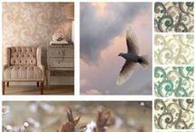 Modern Artisan Candice Olson / Noua colectie Candice Olson, Modern Artisan, este o introducerea in lumea artistului contemporan care iubeste natura si arta ci continua sa se inspire din acestea.  Temele abordate sunt florale, geometrice, dungi sau arabescuri.