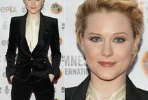 Suit up / Evan Rachel Wood rocks the red carpet