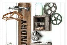 DIY Laundry Room Decor / laundry room decor ideas to make and craft