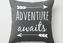 DIY Pillows / quotes to paint
