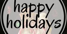 Holiday Ideas / Inspiration for Christmas and holiday ideas. Including  holiday recipes, holiday decor, holiday crafts, holiday desserts, holiday decorations, christmas decorations, christmas crafts, christmas diy, and holiday traditions. Collaborators: Christmas and Holiday Pins only, no alcoholic beverages please.