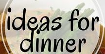 Ideas for Dinner / Best ideas for dinner with recipes the whole family will love. Including on the go recipes, crock pot meals, quick weeknight meals, holiday dinners, thanksgiving dinners, for kids, soups, salads, one pan meals, easy dinners, and more!