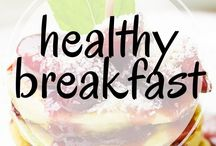 Healthy Breakfast / Healthy breakfast ideas for busy or lazy mornings. Including the best pancakes, overnight oats, waffles, casseroles, smoothies, oatmeal, and other awesome breakfast recipes.