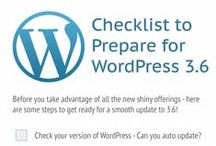 WordPress Goodies / Checklists for WordPress, great plugins suggestions, services to check out for WordPress.