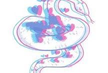HelloTazzina / Some stuff I've made -  Pixel - Digital - Traditional Art