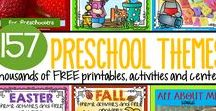 Preschool Themes / Themes for Preschool, Pre K and early Kindergarten.  Make hands-on, interactive activities and learning games for your classroom or home school.