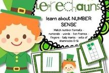 St. Patrick's Day Preschool Theme / This is a collection of St. Patrick's Day themed resources for your preschool, pre-K and Kindergarten aged children, to use both at school and at home. Make hands-on, interactive centers, learning games and activities with these creative free, and low-cost printable pages and inspiring ideas.