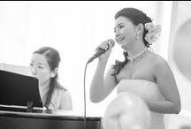 Real Wedding/Theme=Music= / Serendipityの手がけるオーダーメイドウェディング お客様のお写真。音楽家のご新婦さまのこだわりが沢山のウェディング。  会場・パティナステラ
