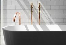 • B A T H R O O M • / A long hot bubble bath fixes everything