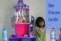 Doll Houses & Fairy Gardens / some inspirations to make doll houses, fairy gardens, troll homes etc. , together with my daughter.