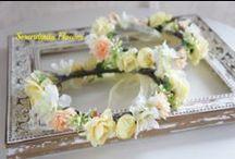 Serendipity Style Flower Crown / SereendipityFlowerの手がけるウェディング/花冠