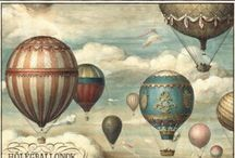 Flying high - hot air balloons