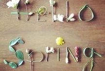 springtime / ispirazioni primaverili