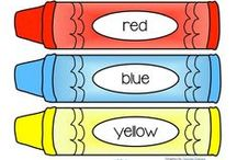 Colors Activities / This is a collection of COLORS learning resources for preschool, pre-K and Kindergarten aged children, to use both at school and at home. Make hands-on, interactive centers, learning games and activities with these creative free, and low-cost printables.