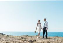 Boho elopement in Crete, in Rethymno / Jennifer and David from UK and Canada