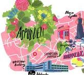 Illustrated maps / illustrated maps