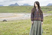 Alice Starmore Stranded Kits / Alice Starmore stranded hand knitwear designs.