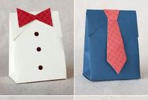 Gift Wrapping / I love paper crafts! These are some great ways to wrap gifts that I think would add to the joy of gift-giving, and the occasional card inspiration. Try them out! Let me know what you think :)