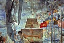 Oeuvres surréalistes / Peintures d'artistes surréalistes et de peintres contemporains s'en inspirant