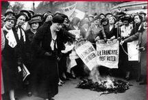 Les femmes et leurs droits. / Quels sont les droits aquis par la Femme Française depuis un siècle ?