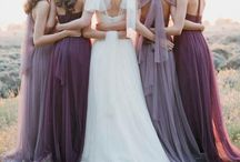 Beautiful bridesmaids / Dresses, accessories, make up and hair ideas for your Bridesmaids