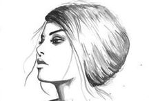 sketches / About fashion and beauty
