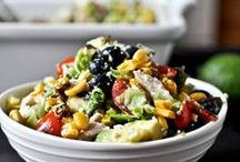 Summery Salads / Beautiful Salads for Hot Summer Days / by Leslie