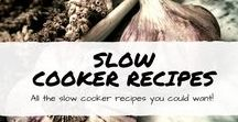 Slow Cooker Recipe / Easy slow cooker recipes including healthy slow cooker recipes, tried and trusted slow cooker meals, family favorite chicken slow cooker meals, and more.