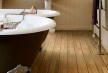 Ships decking effect floors / Use our marquetry, grouting and feature strips with wood effect Camaro or Colonia luxury vinyl tiles from Polyflor achieve this naval plank look.