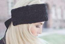 Mode Stirnbänder / Stirnbänder aus Fell
