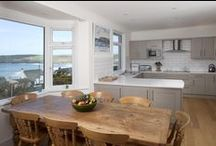 Penroy - a self-catering holiday cottage in Polzeath, North Cornwall by Latitude50. / Enjoy the backdrop of the Atlantic Ocean from many of the rooms in this beautifully located holiday home.  Find out more here: http://www.latitude50.co.uk/our-cottages/polzeath-holiday-cottages/penroy