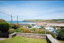 No 2 Pentire View - a self-catering holiday cottage in Polzeath, North Cornwall by Latitude50. / 2 Pentire View is a beautiful Victorian house nestled just above Polzeath Beach with a panoramic outlook over the coast.  Find out more here: http://www.latitude50.co.uk/our-cottages/polzeath-holiday-cottages/no-2-pentire-view