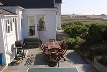 Upper Pen-y-Bryn - a self-catering holiday cottage in Daymer Bay, North Cornwall by Latitude50. / Upper Pen-y-Bryn is a charming traditional property close to Polzeath and Daymer Bay. Here you can enjoy spectacular views over rolling green fields and the fairways of the golf course.  Find out more: http://www.latitude50.co.uk/our-cottages/daymer-bay-holiday-cottages/pen-y-bryn-upper