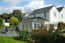 Treglyddins - a self-catering holiday cottage in Rock, North Cornwall by Latitude50. / This character cottage is tucked away in a quiet area of Rock, with a pretty garden and heated outdoor swimming pool.  Find out more here: https://www.latitude50.co.uk/explore-our-properties/north-cornwall/rock/treglyddins
